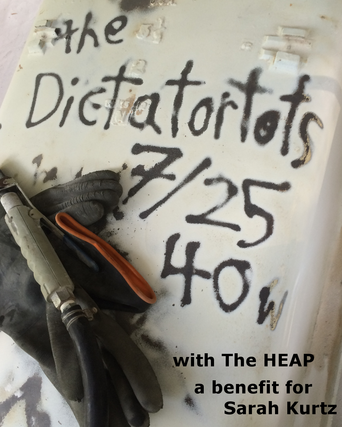 The HEAP vs. The Dictatortots for Sarah Kurtz 7/25 at the 40 Watt Club