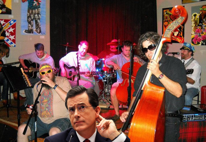 Stephen Colbert harkens to the melodious sounds of The Dictatortots